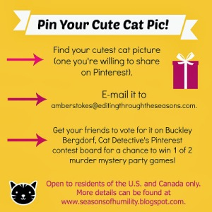 Buckley's Pin Your Cute Cat Pic Contest 2