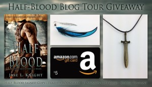 Half Blood Tour Giveaway Banner